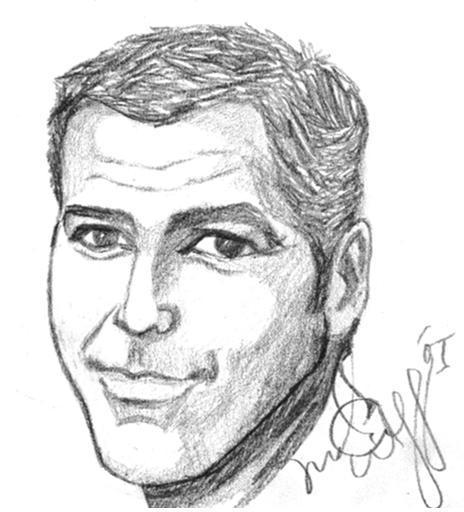 George Clooney por lokibartleby04